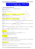 Luyện thi Đại học môn Toán: Bài toán tìm điểm, góc, khoảng cách - Thầy Đặng Việt Hùng