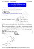 Luyện thi Đại học môn Toán: Dạng lượng giác của số phức - Thầy Đặng Việt Hùng