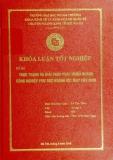 Khóa luận tốt nghiệp: Thực trạng và giải pháp phát triển ngành công nghiệp phụ trợ ngành dệt may Việt Nam