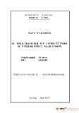 Tóm tắt luận văn thạc sĩ: Kế toán trách nhiệm tại công ty TNHH một thành viên cảng Quy Nhơn