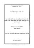 Tóm tắt luận văn thạc sĩ: Kế toán quản trị chi phí tại công ty cổ phần xây lắp và phát triển dịch vụ bưu điện Quảng Nam