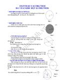Hình học lớp 9: Chuyên đề đường tròn