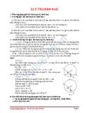 Hình học lớp 9: Chuyên đề cực trị