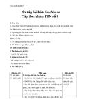 Giáo án Âm nhạc 7 bài 7: Tập đọc nhạc: TĐN số 8