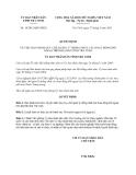 Quyết định 14/2013/QĐ-UBND năm 2013