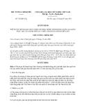 Quyết định 738/QĐ-TTg năm 2013