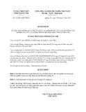 Quyết định 12/2013/QĐ-UBND 2013