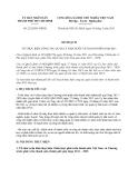 Kế hoạch 2322/KH-UBND năm 2013