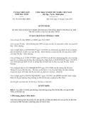 Quyết định 191/2013/QĐ-UBND