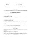 Quyết định số 08/2013/QĐ-UBND năm 2013