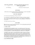 Quyết định 795/QĐ-TTg năm 2013