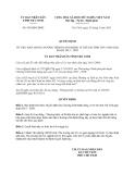 Quyết định 345/QĐ-UBND năm 2013