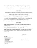 Quyết định 749/QĐ-LĐTBXH năm 2013