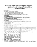 Giáo án Công nghệ 10 bài 47: Thực hành - Làm sữa chua hoặc sữa đậu nành (đậu tương) bằng phương pháp đơn giản