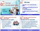 Bài giảng Tài chính tiền tệ (Ths.Vũ Quang Kết) - Chương 6: Tài chính doanh nghiệp