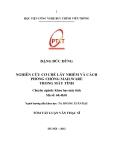 Tóm tắt luận văn Thạc sĩ: Nghiên cứu cơ chế lây nhiễm và cách phòng chống Mailware trong máy tính