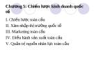 Bài giảng Quản trị kinh doanh quốc tế (Nguyễn Hùng Phong) - Chương 5: Chiến lược kinh doanh quốc tế