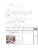 Giáo án bài 10: Vẽ trang trí màu sắc - Mỹ thuật 6 - GV.B.Trọng Tấn