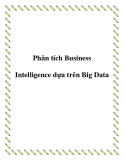 Phân tích Business Intelligence dựa trên Big Data