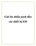 Gửi tin nhắn push đến các thiết bị iOS
