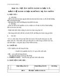 Giáo án bài 21: Sự ăn mòn kim loại và bảo vệ kim loại - Hóa 9 - GV.N Phương