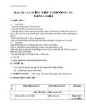Giáo án bài 22: Luyện tập chương 2 - Kim loại - Hóa 9 - GV.N Phương