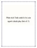 Bài văn mẫu lớp 10: Phân tích tình cảnh lẻ loi của người chinh phụ (bài số 3)