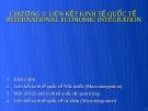 Bài giảng Quản trị kinh doanh quốc tế - Chương 3: Liên kết kinh tế quốc tế