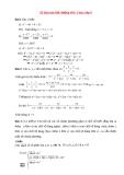 15 Bài toán bồi dưỡng học sinh giỏi Toán lớp 8
