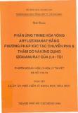 Luận án phó tiến sĩ khoa học hóa học: Phản ứng Trime hóa vòng Arylizoxianat bằng phương pháp xúc tác chuyển pha