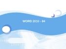 WORD 2010 - 84
