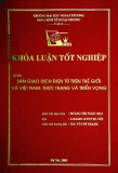 Khóa luận tốt nghiệp: Sàn giao dịch điện tử trên thế giới và Việt Nam: Thực trạng và triển vọng