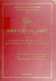 Khóa luận tốt nghiệp: Hoàn thiện và phát triển dịch vụ ngân hàng quốc tế ở ngân hàng đầu tư và phát triển Việt Nam