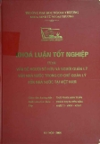 Khóa luận tốt nghiệp: Vấn đề người sở hữu và người quản lý vốn nhà nước trong cơ chế quản lý vốn nhà nước tại Việt Nam