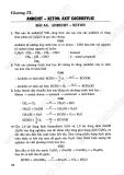 Giải bài tập Hóa học 11 cơ bản - Chương 9 - Andehit, Xeton, Axit Cacbonxylic