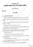 Giải bài tập Sinh học 7 - Chương 6 - Ngành động vật có xương sống
