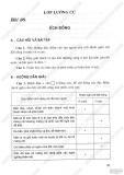 Giải bài tập Sinh học 7 - Chương 6 - Lớp lưỡng cư