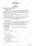 Giải bài tập Đại số và Giải tích 11 cơ bản: Chương 2 - Tổ hợp xác suất
