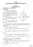 Giải bài tập Đại số và Giải tích 11 cơ bản: Chương 1 - Hàm số lượng giác, Phương trình lượng giác