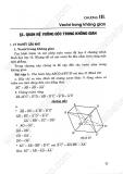 Giải Bài Tập Hình Học 11 Cơ Bản: Chương 3 - Vecto trong không gian
