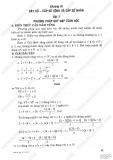 Giải bài tập Đại số và Giải tích 11 cơ bản: Chương 3 - Dãy số, cấp số cộng, cấp số nhân