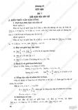 Giải Bài Tập Đại Số Và Giải Tích 11 Cơ Bản: Chương 4 - Giới hạn