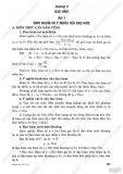 Giải bài tập Đại số và Giải tích 11 cơ bản: Chương 5 - Đạo hàm