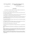 Quyết định 25/2013/QĐ-TTg