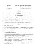 Quyết định 626/QĐ-BNV năm 2013