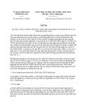 Chỉ thị 02/2013/CT-UBND