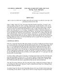 Thông báo 202/TB-VPCP năm 2013