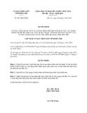 Quyết định 887/QĐ-UBND năm 2013 công bố thủ tục hành chính mới, bị bãi bỏ lĩnh vực Xây dựng thuộc thẩm quyền giải quyết của Uỷ ban nhân dân cấp huyện trên địa bàn tỉnh Bến Tre