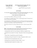Quyết định số 949/QĐ-UBND năm 2013