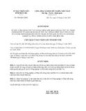 Quyết định 900/QĐ-UBND năm 2013